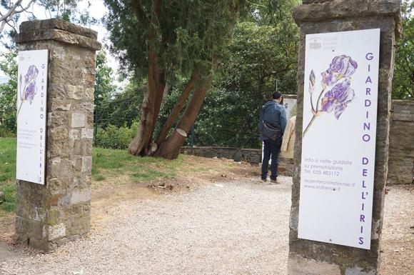 開催中!フィレンツェのアイリス庭園はこれからが見頃です_f0106597_06194133.jpg