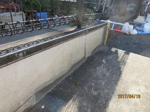 外装リフォーム・塀の修理_f0140817_00084241.jpg