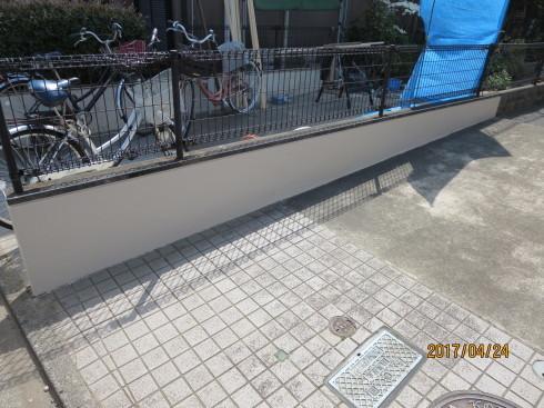 外装リフォーム・塀の修理_f0140817_00090276.jpg