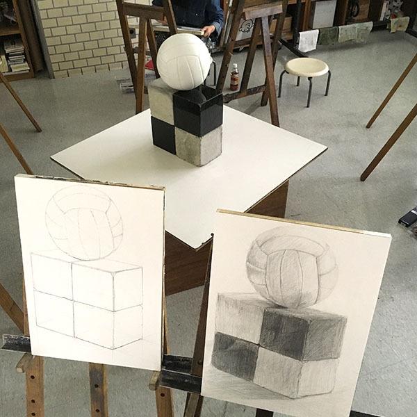 3週目も形と色/デザイン・工芸科 私大コース_f0227963_13032707.jpg