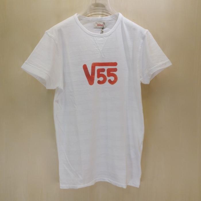 "Vintage 55 ( ヴィンテージ55 ) ""√55""プリント Tシャツ_c0118375_10555267.jpg"