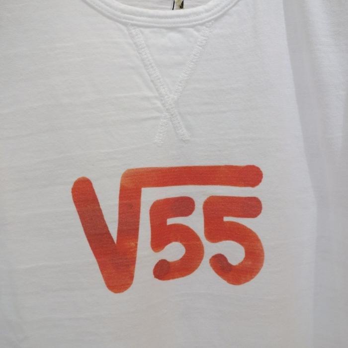 "Vintage 55 ( ヴィンテージ55 ) ""√55""プリント Tシャツ_c0118375_10555949.jpg"