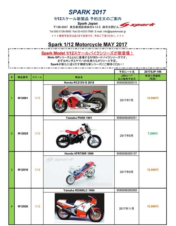 ミニカー新製品情報・予約開始(Spark)_f0372507_19274273.jpg