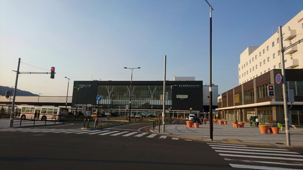 2017年5月4日(木)今朝の函館の天気と気温は。新函館北斗駅のショップおがーるにセラピア製品。北海道土産にいかが?_b0106766_07083137.jpg