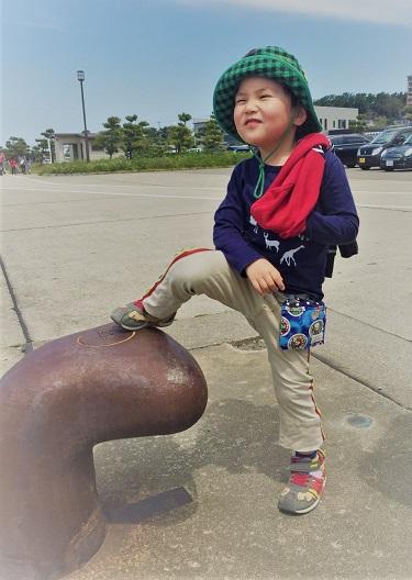 港の子ども達☆_b0079382_15545541.jpg