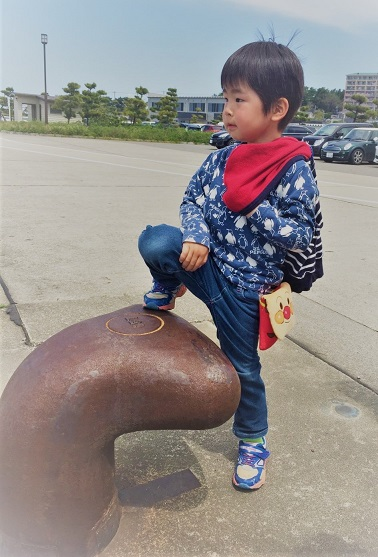 港の子ども達☆_b0079382_1555463.jpg