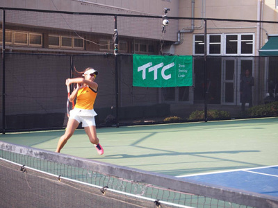 金栄堂サポート:プロテニスプレーヤー・藤岡希選手アイウェアインプレッション!_c0003493_09052732.jpg