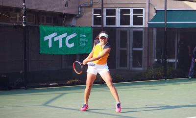 金栄堂サポート:プロテニスプレーヤー・藤岡希選手アイウェアインプレッション!_c0003493_09053548.jpg