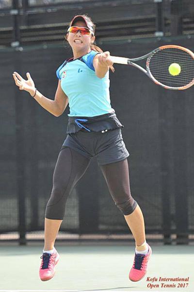 金栄堂サポート:プロテニスプレーヤー・藤岡希選手アイウェアインプレッション!_c0003493_09054217.jpg