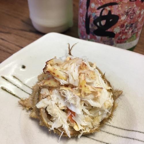 トゲクリガニ食べる〜_a0134394_06300814.jpg