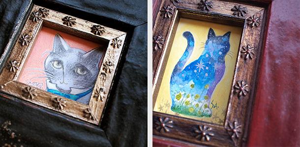 【参加中】ART HOUSE企画 「Tiny Cats Vol.7」_f0023482_14570907.jpg