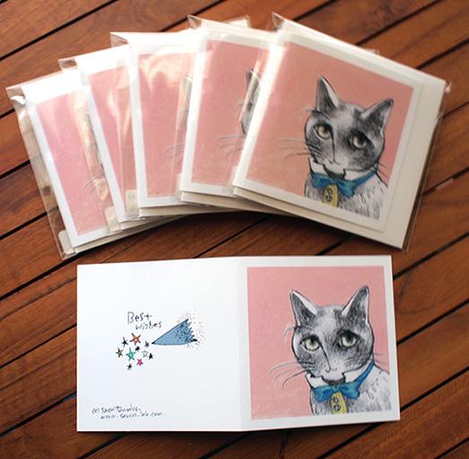 【参加中】ART HOUSE企画 「Tiny Cats Vol.7」_f0023482_14571732.jpg