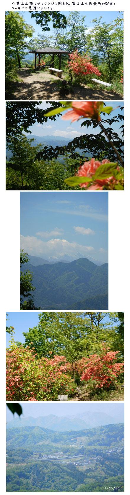 能山から八重山をハイキング_c0051105_1744422.jpg