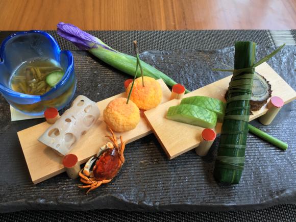 ホテル日航大阪・日本料理 弁慶_d0339676_13374844.jpg
