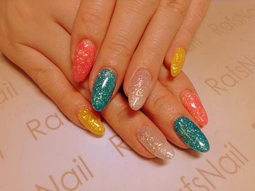 new nail(*^^*)_c0294909_18551175.jpg