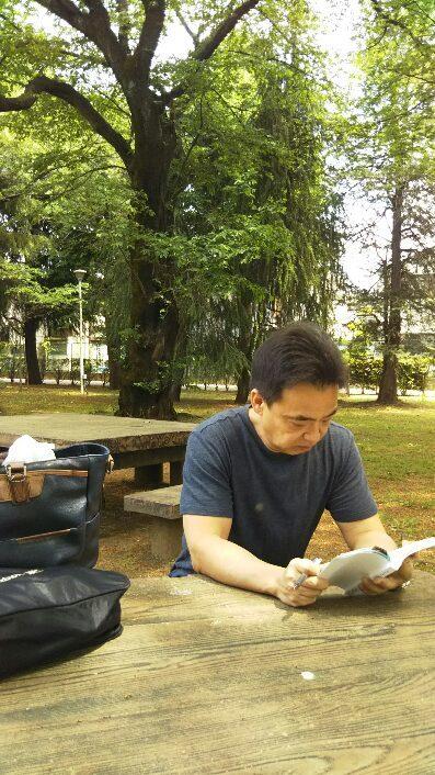 No.3528 5月7日(日):森林de読書_b0113993_18401295.jpg