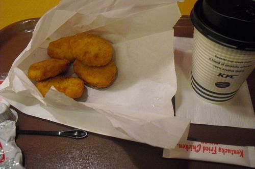 KFC 『ナゲット5ピース』_a0326295_15341833.jpg