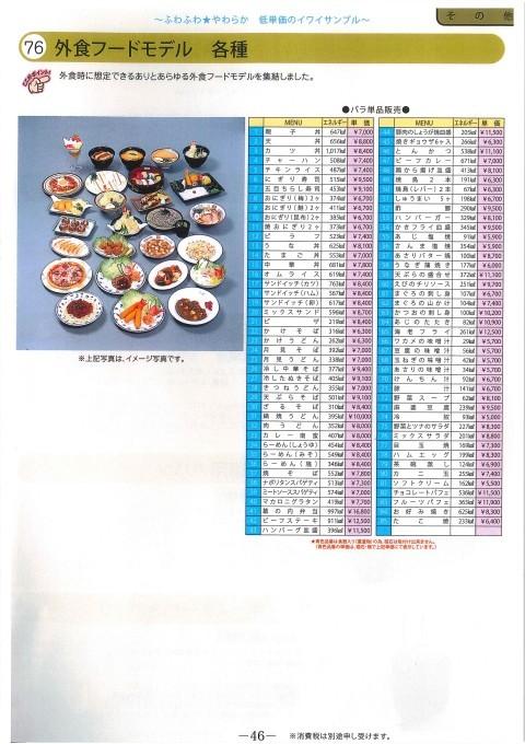 栄養指導用フードモデル P.46_e0142313_11401279.jpg