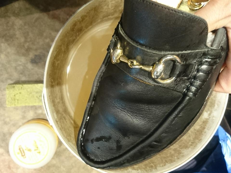 靴を洗います(洗いました!編)_b0226322_18225033.jpg