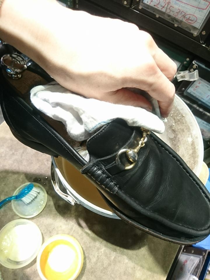 靴を洗います(洗いました!編)_b0226322_18225133.jpg