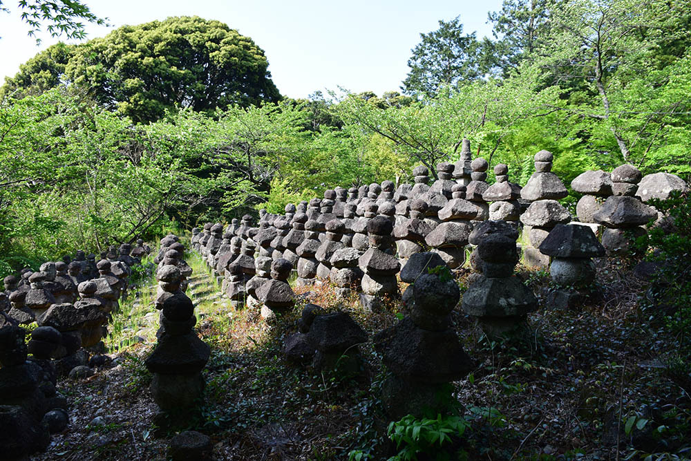太平記を歩く。 その56 「名和一族郎党の墓」 鳥取県西伯郡大山町_e0158128_20192451.jpg