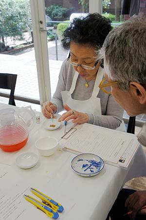 Spatio5610 workshop 「伊藤和江・金繕い教室」がはじまりました。_f0171840_18094314.jpg