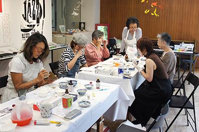 Spatio5610 workshop 「伊藤和江・金繕い教室」がはじまりました。_f0171840_18120535.jpg