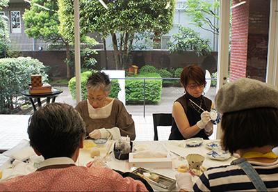 Spatio5610 workshop 「伊藤和江・金繕い教室」がはじまりました。_f0171840_19590551.jpg