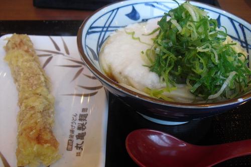 丸亀製麺 『とろ玉うどん』_a0326295_1930407.jpg