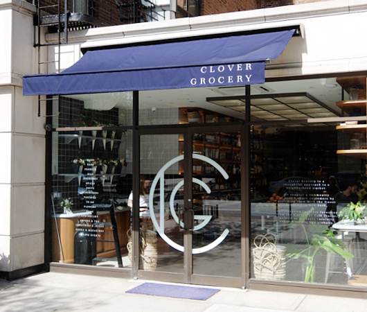 NYでカフェの2号店なのにグロッサリー?!で話題のClover Grocery_b0007805_5281072.jpg