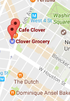 NYでカフェの2号店なのにグロッサリー?!で話題のClover Grocery_b0007805_5283242.jpg