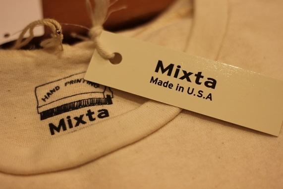 純アメリカ産ブランド「Mixta (ミクスタ)」プリントTeeご紹介_f0191324_07424263.jpg