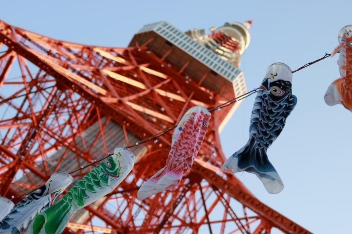【東京タワー/鯉のぼり】_f0348831_19405323.jpg