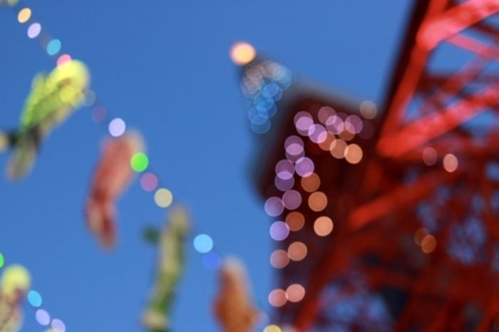 【東京タワー/鯉のぼり】_f0348831_19405515.jpg