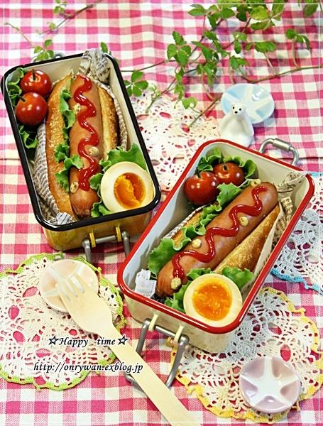 ドッグパンでホットドッグ弁当と♪_f0348032_18143567.jpg
