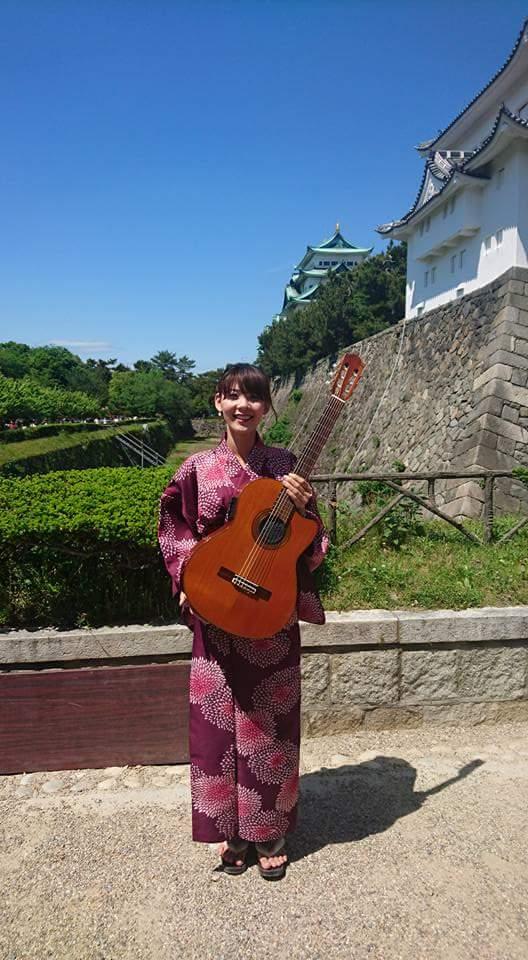 名古屋城 春の陣2017 せきともこギターコンサート_f0373339_1424225.jpg