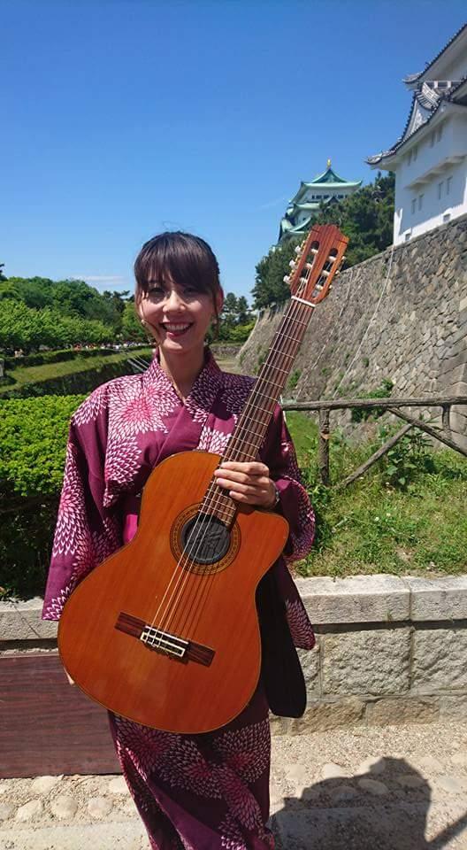 名古屋城 春の陣2017 せきともこギターコンサート_f0373339_1424265.jpg