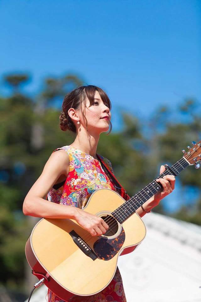 名古屋城 春の陣2017 せきともこギターコンサート_f0373339_1424329.jpg