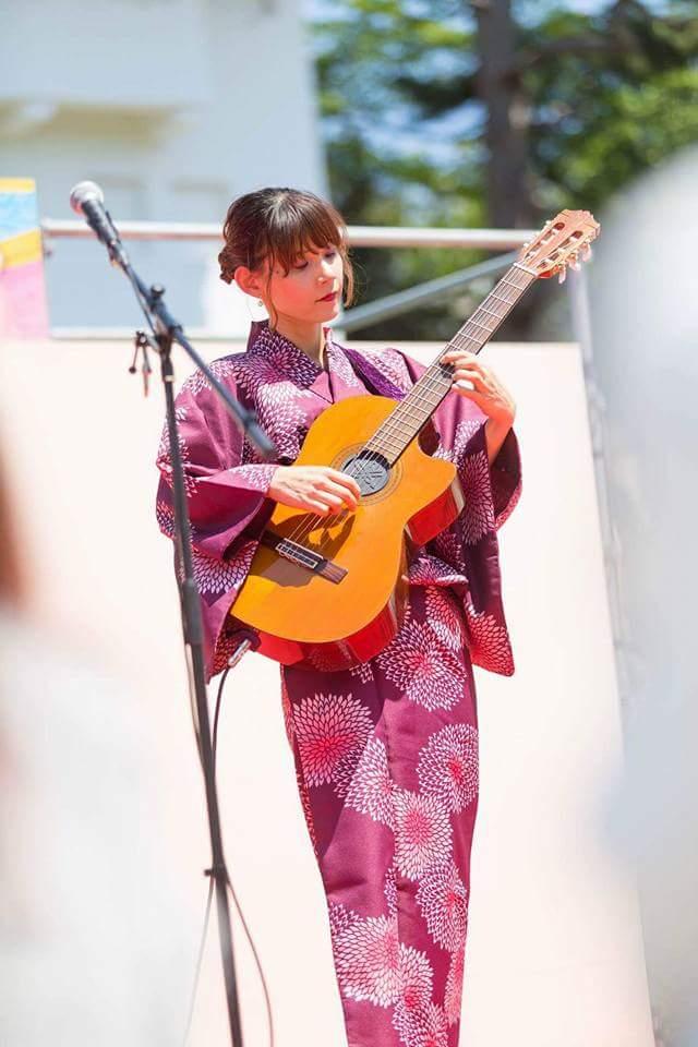 名古屋城 春の陣2017 せきともこギターコンサート_f0373339_1424477.jpg
