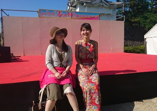 名古屋城 春の陣2017 ~お世話になった皆様編~_f0373339_1550219.jpg