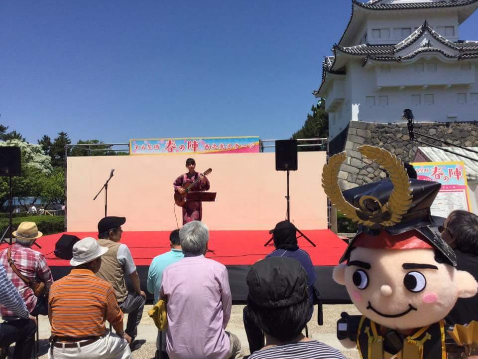 名古屋城 春の陣2017 取材を受けました!_f0373339_1642518.jpg