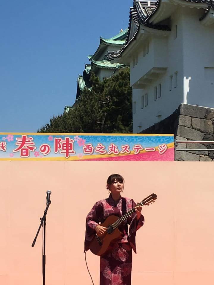 名古屋城 春の陣2017 取材を受けました!_f0373339_1642564.jpg
