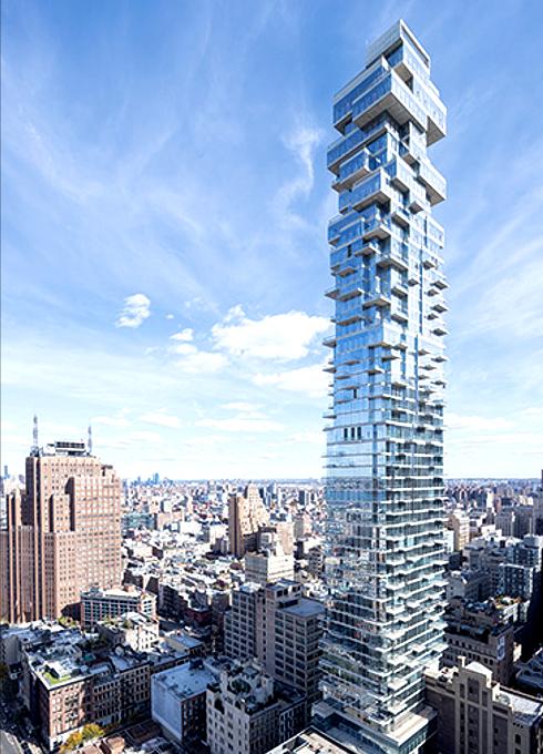 NYで話題のジェンガみたいな新築高層コンドミニアム、56 Leonard_b0007805_9573657.jpg