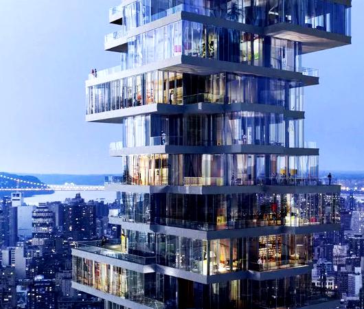 NYで話題のジェンガみたいな新築高層コンドミニアム、56 Leonard_b0007805_958454.jpg