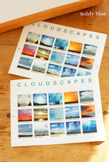 vintage cloudscapes stamps 古い雲の切手_e0253364_11311519.jpg