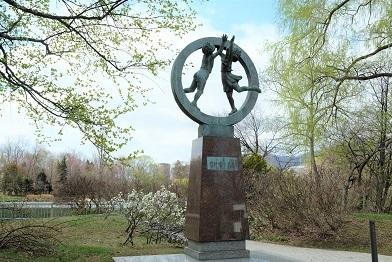 札幌市中島公園の彫刻達_f0362073_07223033.jpg