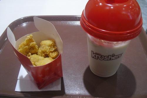 KFC 『クラッシャーズ アロエ&マスカット etc.』_a0326295_19163099.jpg