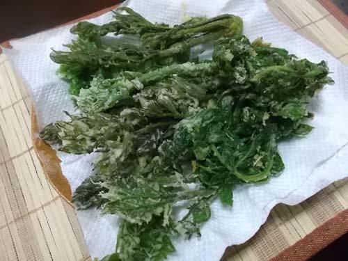 長男夫婦とランチ&長男の山菜料理_f0019498_21412881.jpg