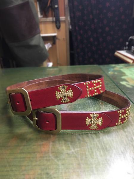 custom order studs belt_f0161305_19250843.jpg