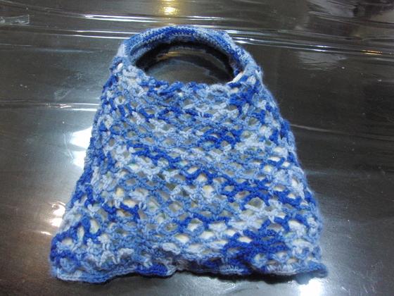 編みもの & 裁縫 ~ 模様編みの手提げバック ~_e0222340_16424877.jpg